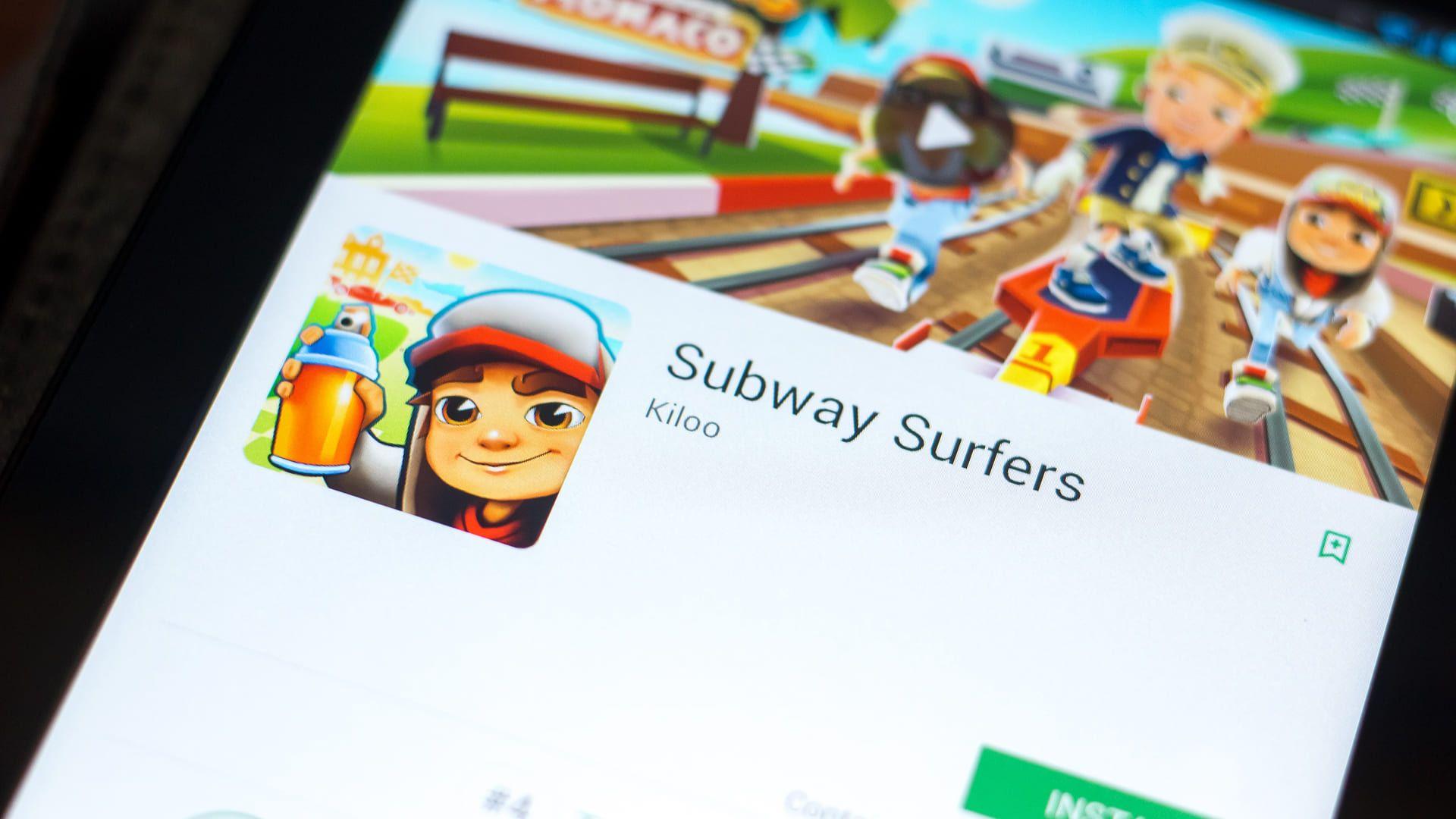 Subway Surfers está disponível para iOS e Android (Foto: Sharaf Maksumov/Shutterstock)