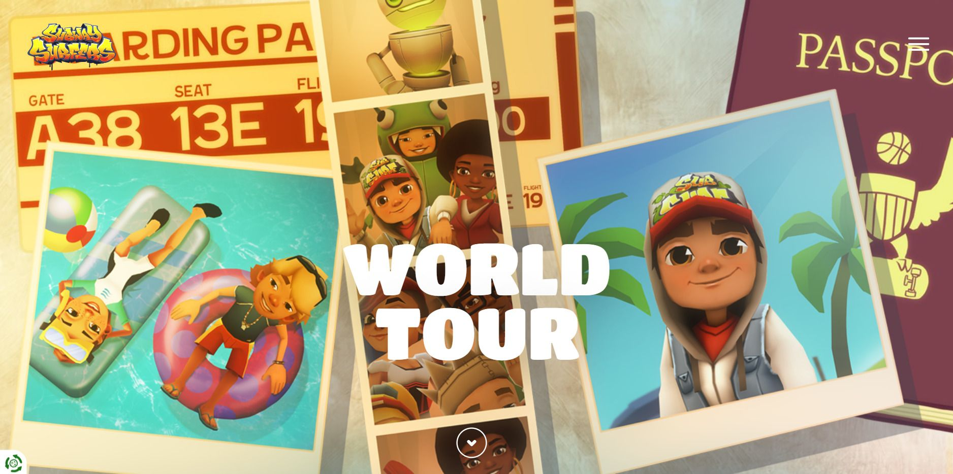 Subway Surfers World Tour viaja todo mês por cidades do mundo inteiro (Foto: Subway Surfers)