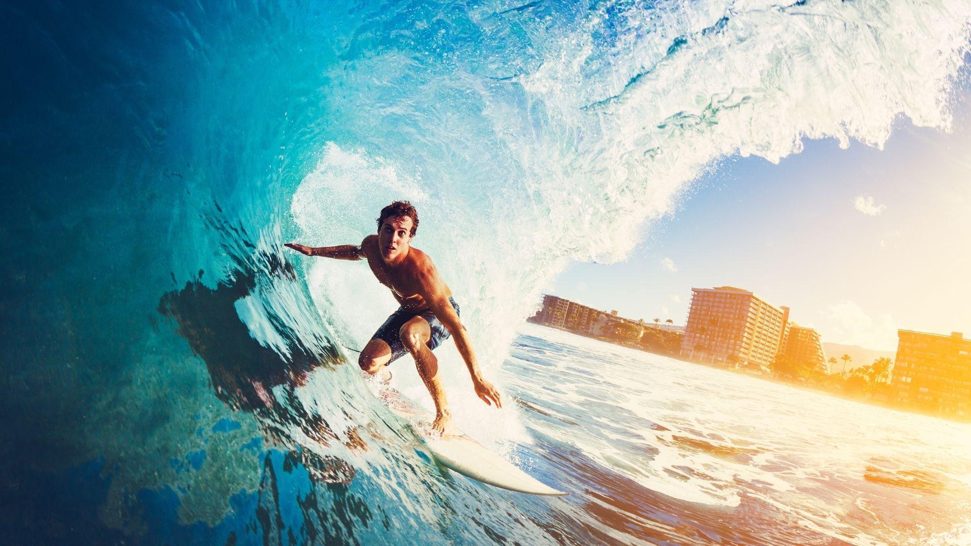 Surfe é um dos esportes olímpicos estreantes (Shutterstock)
