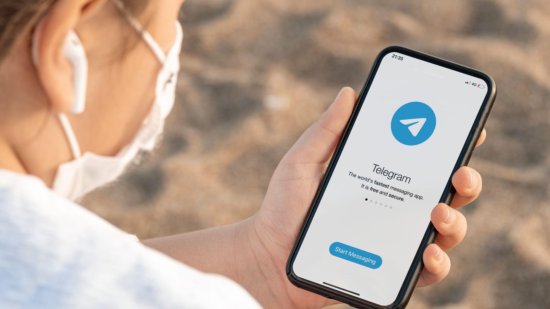 Telegram é um app que roda no iOS, Android e Windows Phone (Yalcin Sonat / Shutterstock)