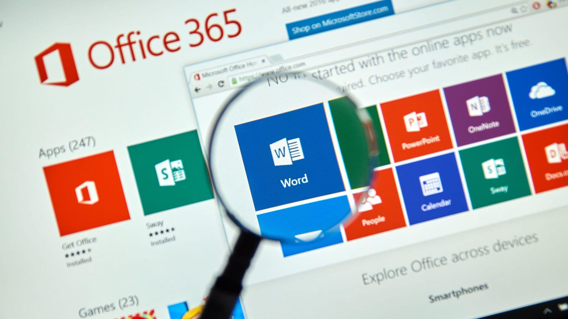 O pacote é composto por diferentes programas de produtividade (Fonte: Shutterstock)