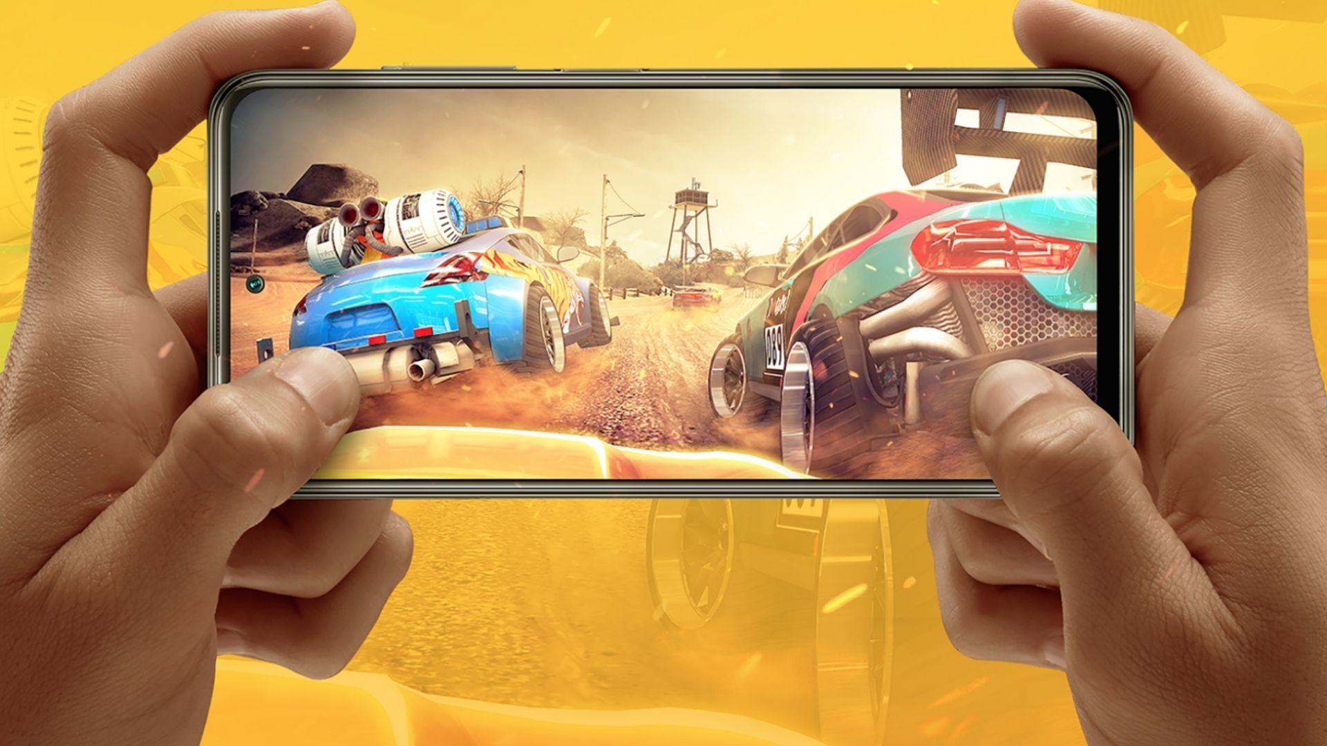 O POCO M3 Pro 5G possui tela com taxa de atualização adaptativa. (Foto: Divulgação/Xiaomi)