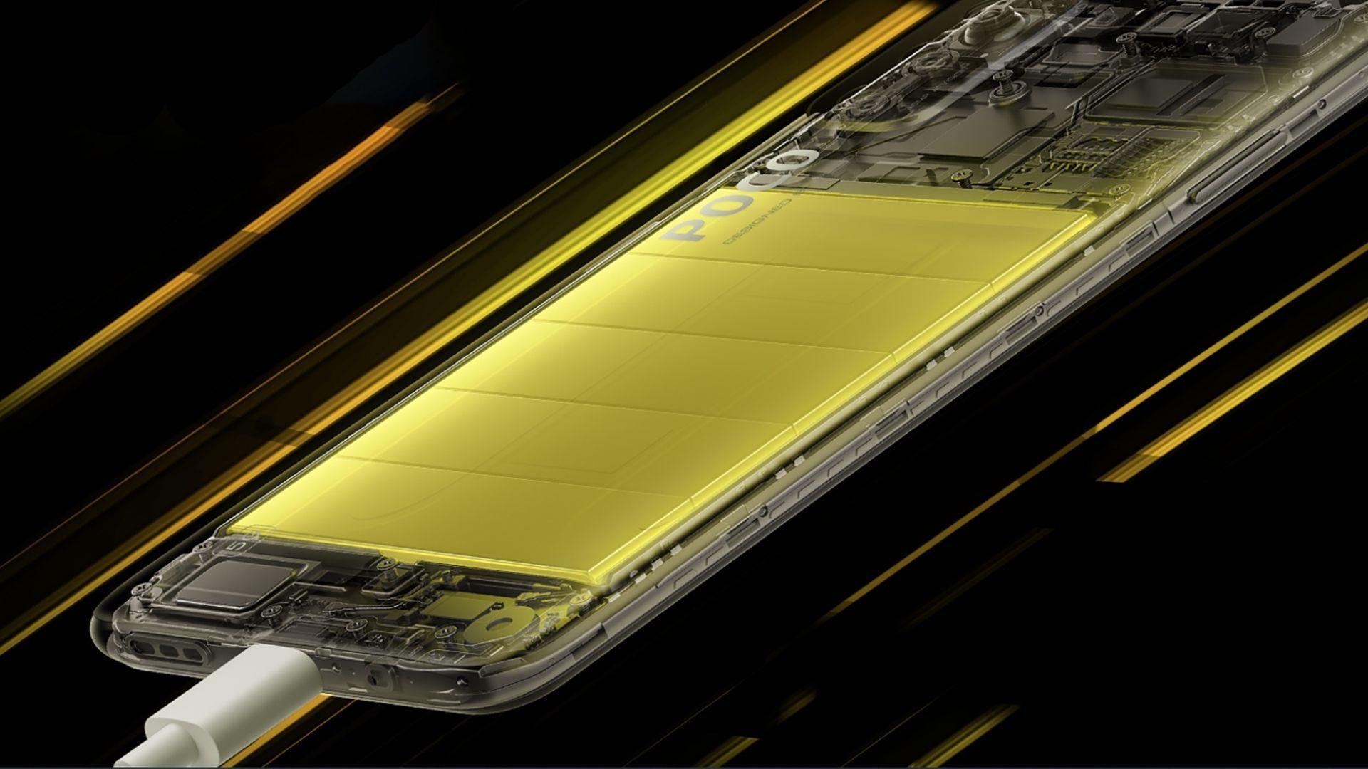 O Xiaomi Poco M3 Pro 5G tem bateria de 5.000 mAh. (Foto: Divulgação/Xiaomi)