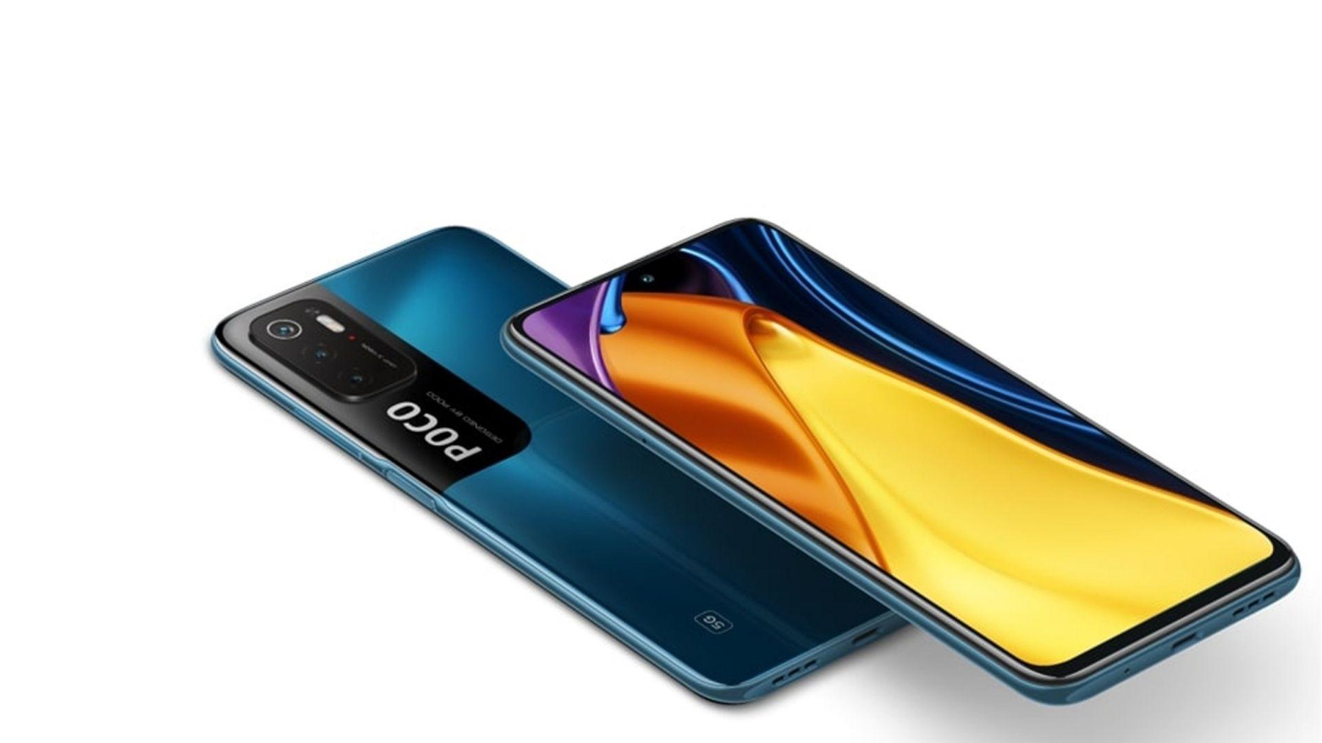 Design do Xiaomi Poco M3 Pro 5G. (Foto: Divulgação/Xiaomi)