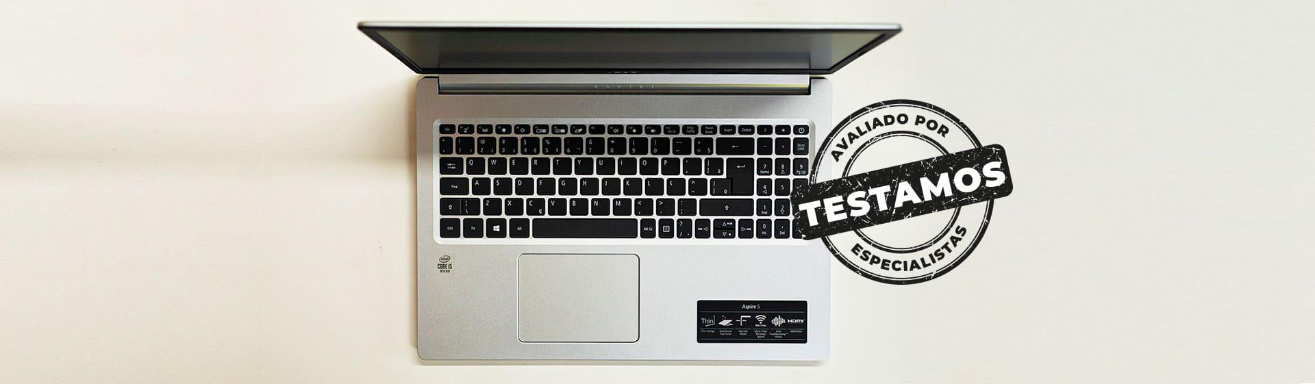 Acer Aspire 5 com i5 e SSD é rápido, mas tela deixa a desejar