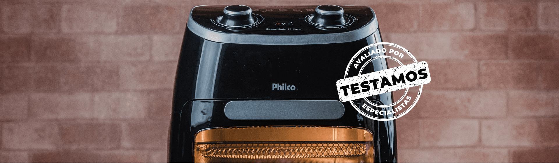 Air Fryer Oven Philco: fritadeira sem óleo é eficiente e fácil de manusear