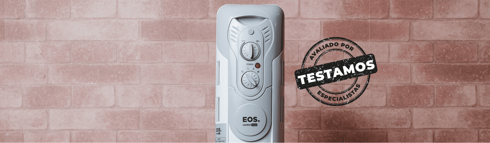 Aquecedor Elétrico EOS Comfort Heat: aparelho é silencioso e deixa o ambiente confortável