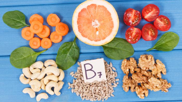 A biotina não engorda, mas pode auxiliar no emagrecimento (Imagem: Reprodução/Shutterstock)