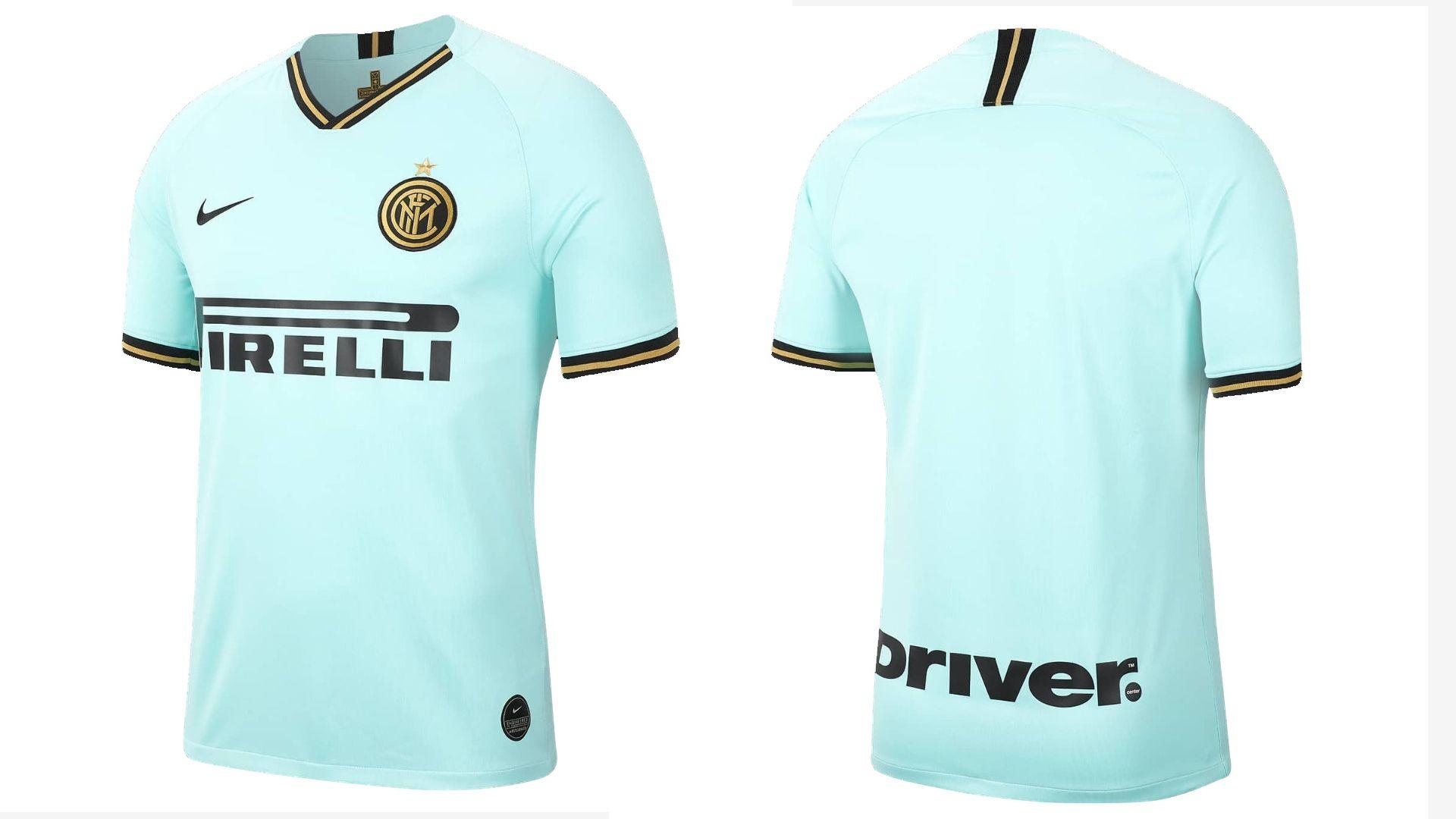 Camisa da Inter de Milão Verde (Imagem: Divulgação/Nike)