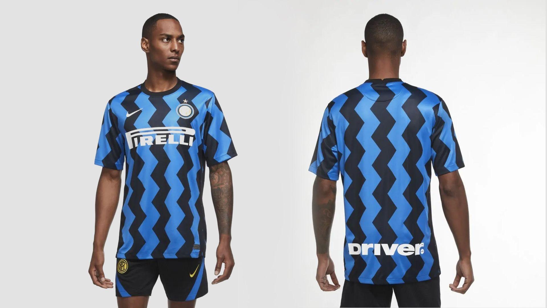 Camisa da Inter de Milão Azul (Imagem: Divulgação/Nike)