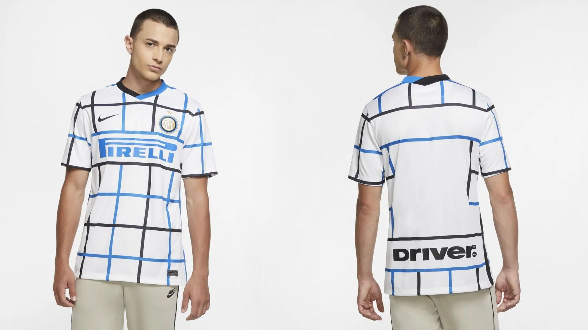Camisa da Inter de Milão Branca (Imagem: Divulgação/Nike)