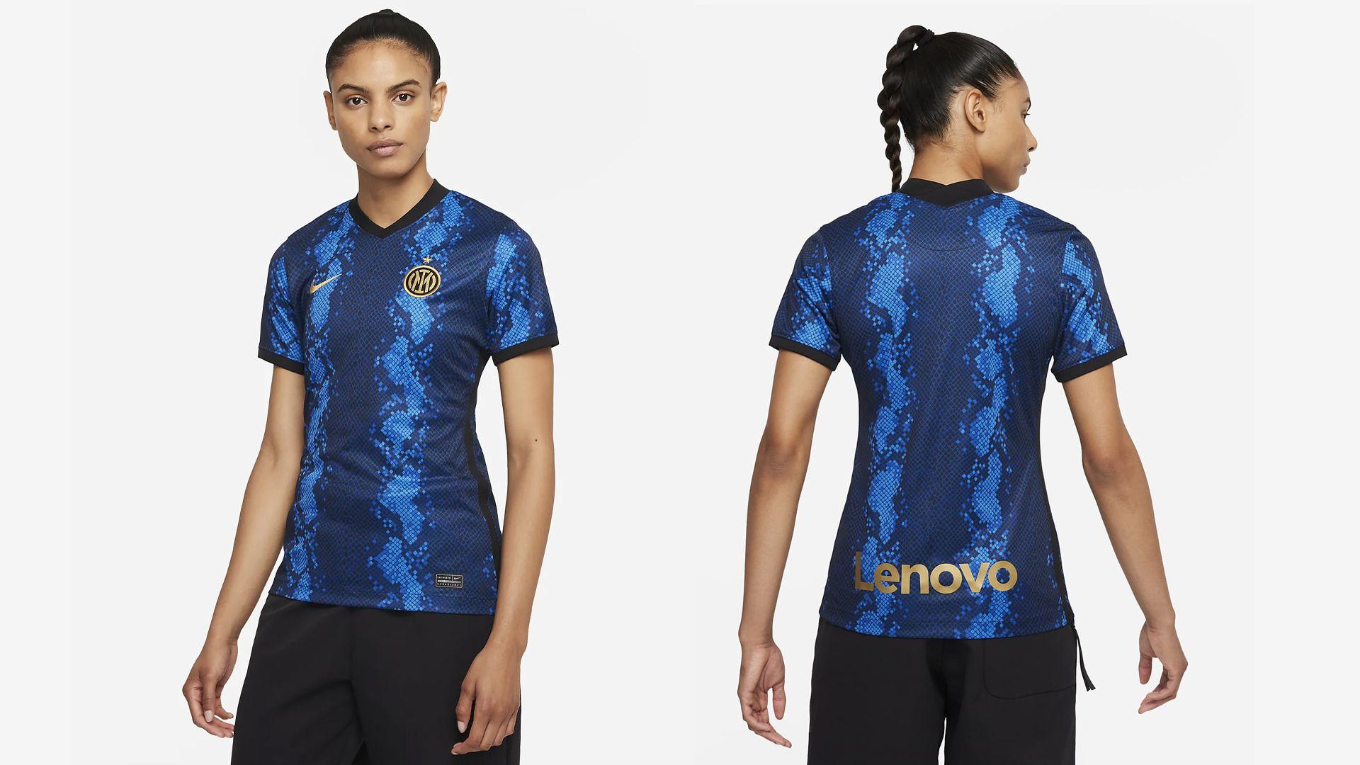Camisa da Inter de Milão Feminina (Imagem: Divulgação/Nike)