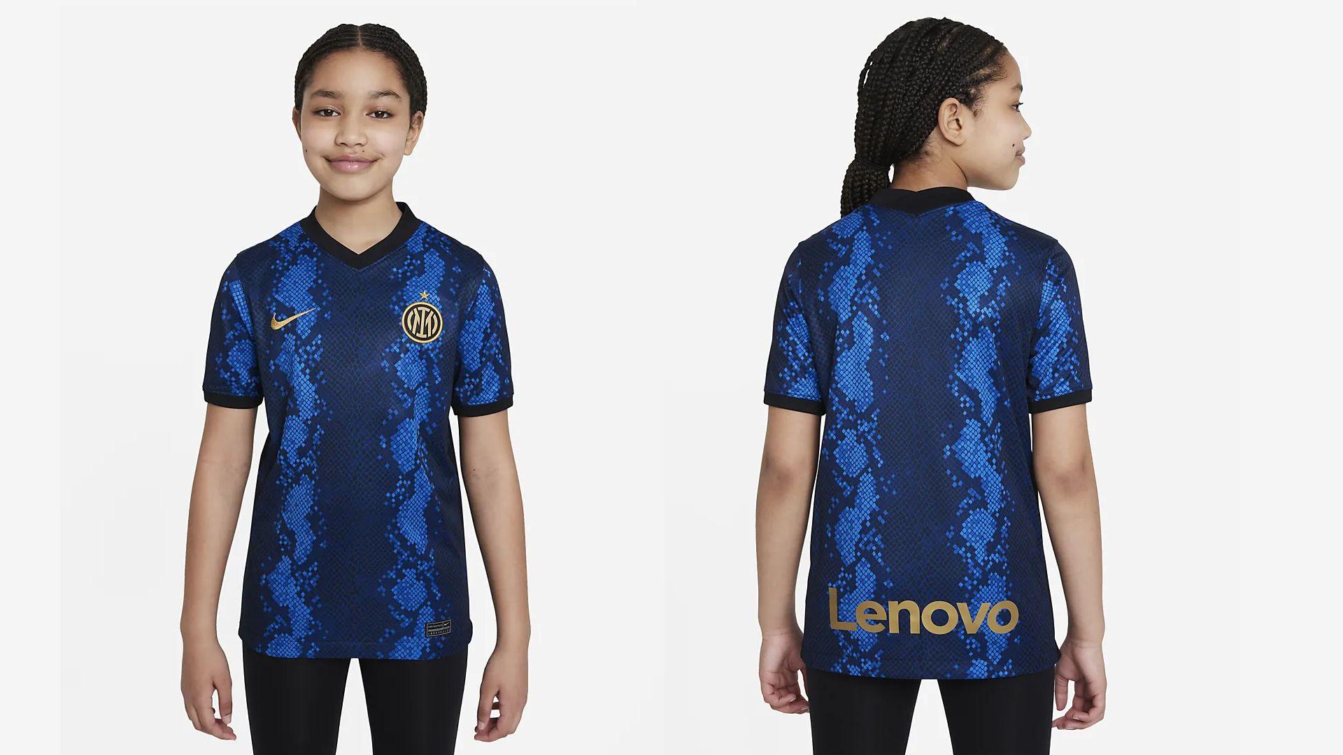 Camisa da Inter de Milão Infantil (Imagem: Divulgação/Nike)