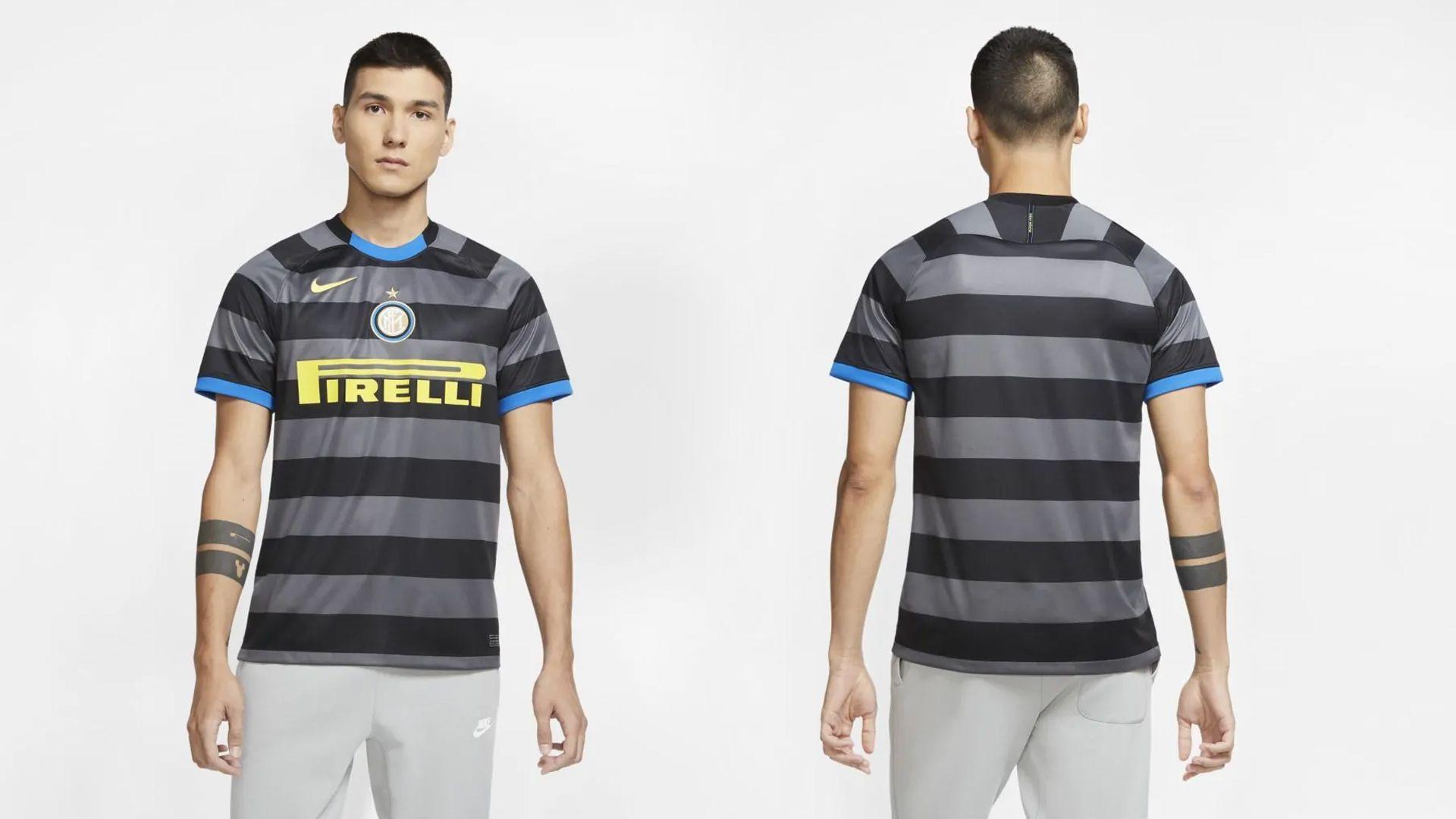 Camisa da Inter de Milão Preta (Imagem: Divulgação/Nike)