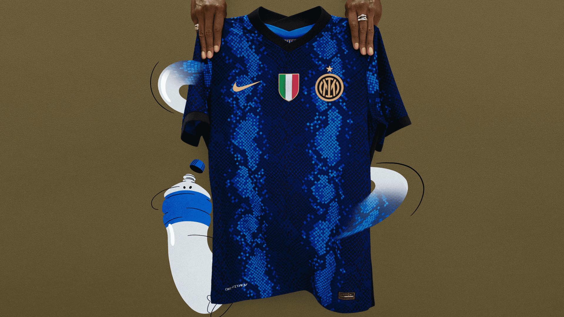 Conheça os modelos de camisa da Inter de Milão para comprar em 2021! (Imagem: Divulgação/Nike)