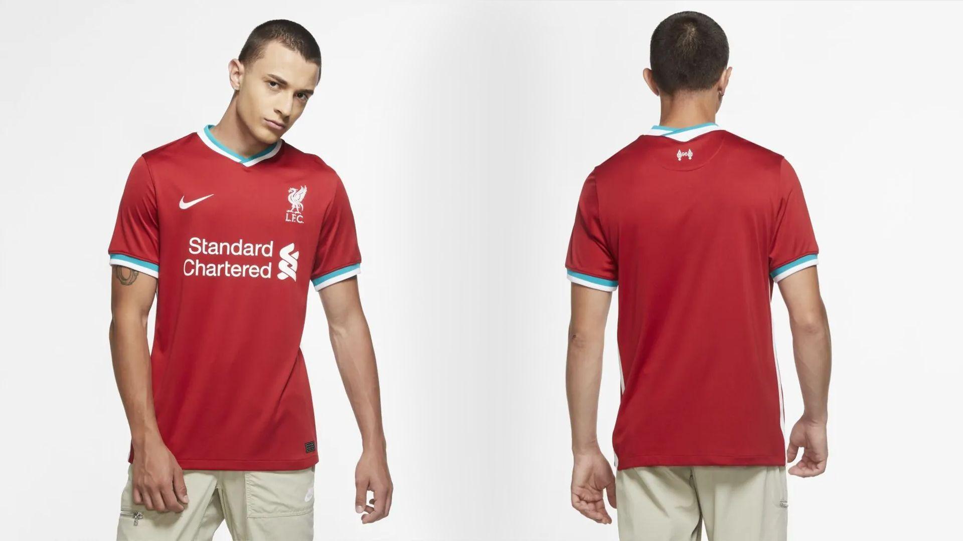 Camisa do Liverpool Vermelha (Imagem: Divulgação/Nike)