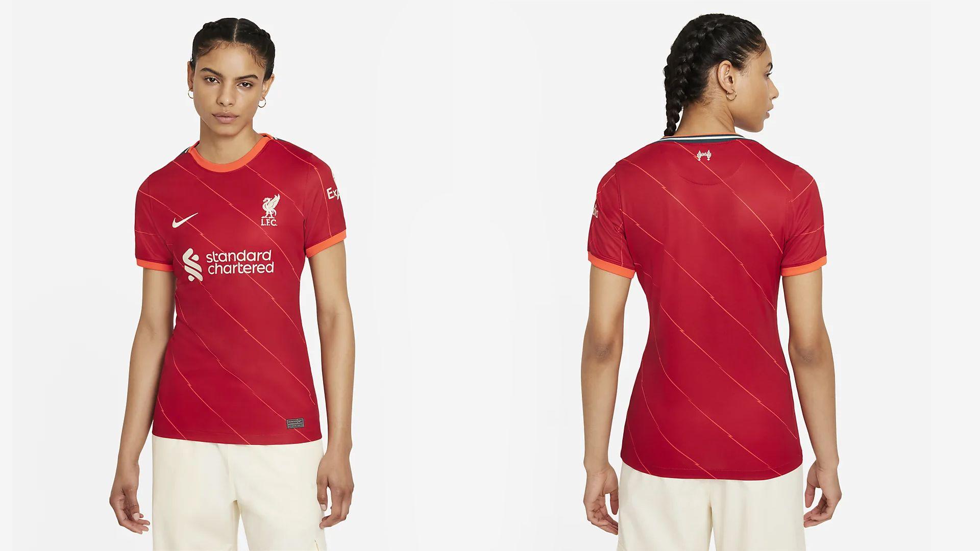 Camisa do Liverpool (Imagem: Divulgação/Nike)