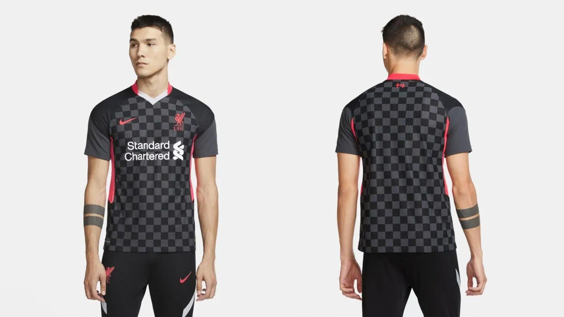 Camisa do Liverpool Preta (Imagem: Divulgação/Nike)
