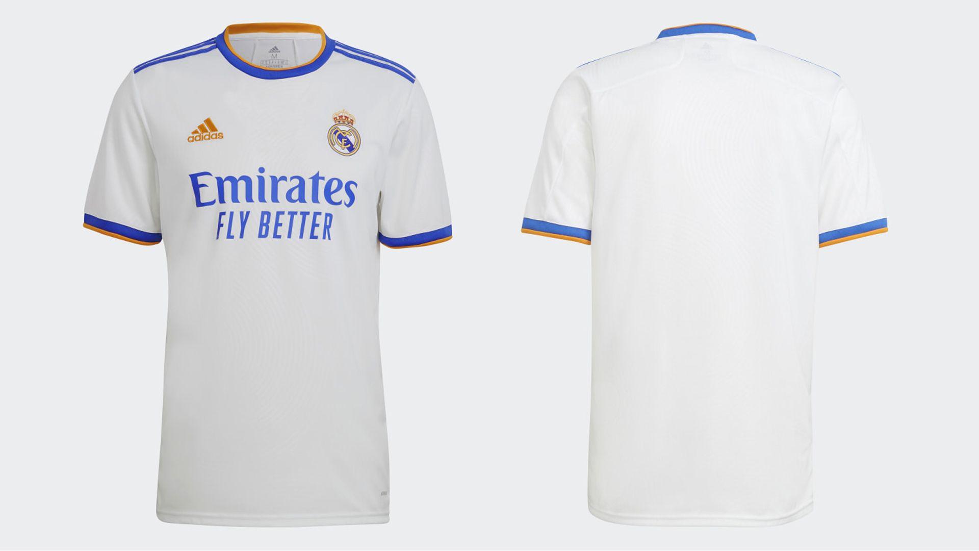 Camisa do Real Madrid 2021 (Imagem: Divulgação/Adidas)