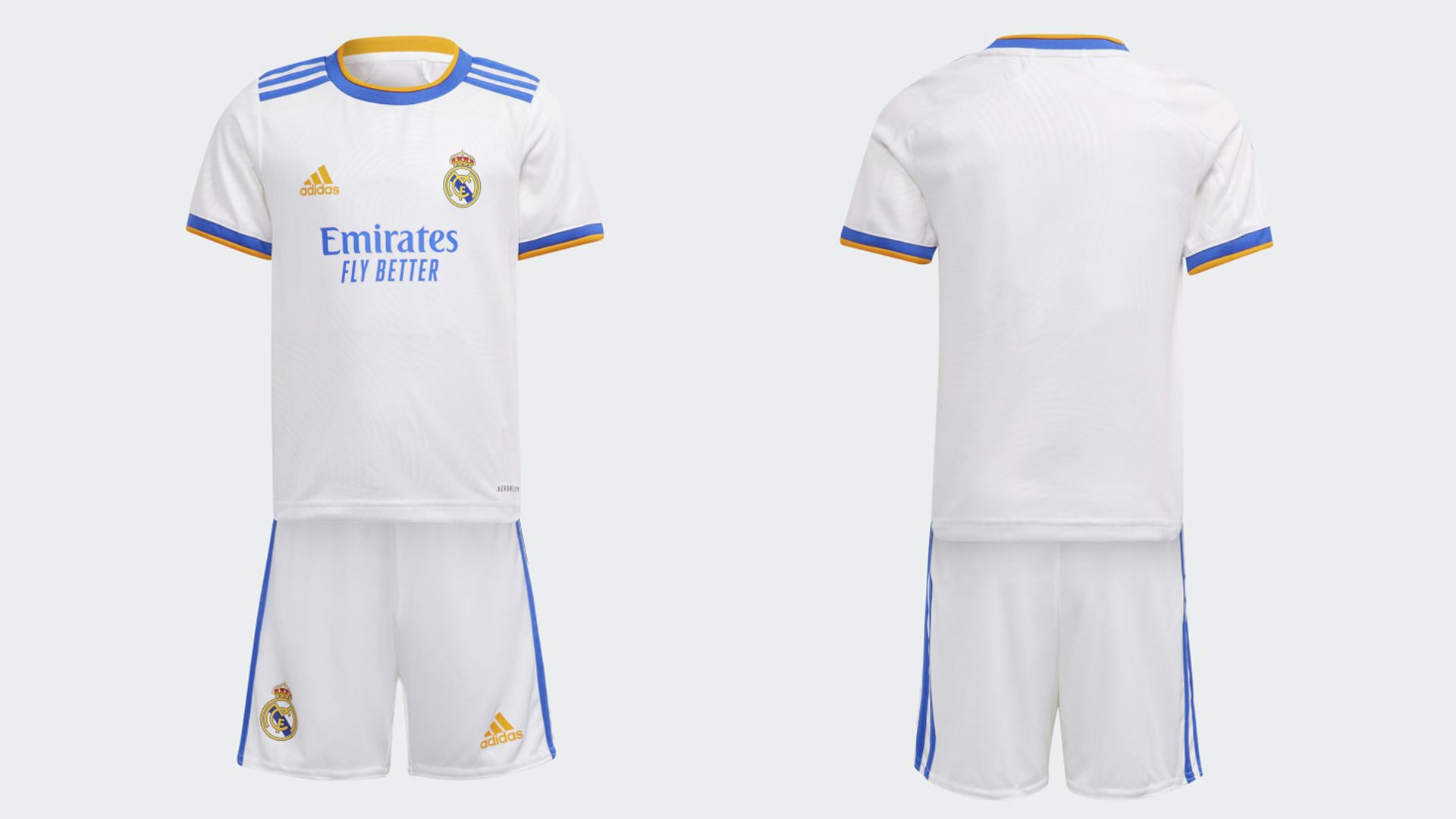 Camisa do Real Madrid Infantil (Imagem: Divulgação/Adidas)