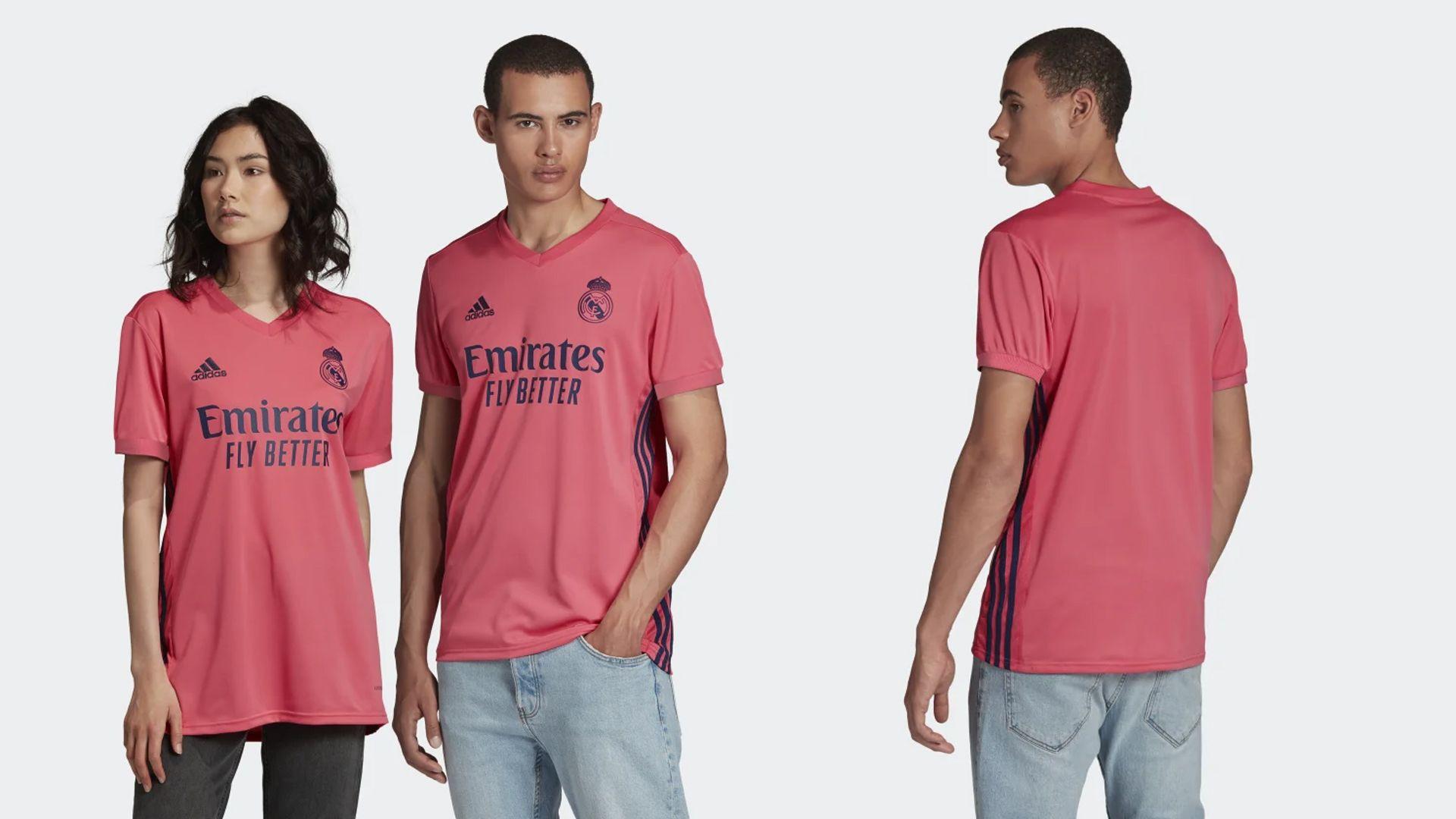Camisa do Real Madrid Rosa (Imagem: Divulgação/Adidas)