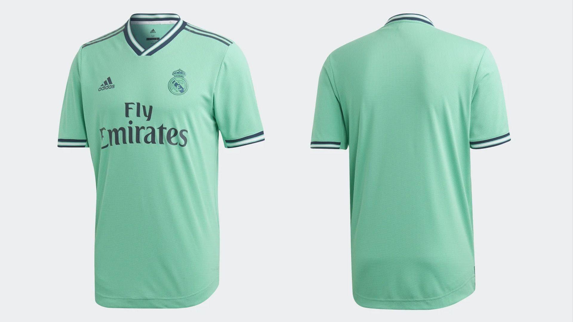 Camisa do Real Madrid Verde (Imagem: Divulgação/Adidas)
