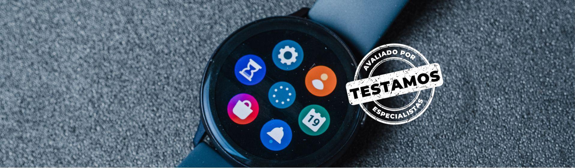 Galaxy Watch Active 2 se destaca com funções fitness e de saúde
