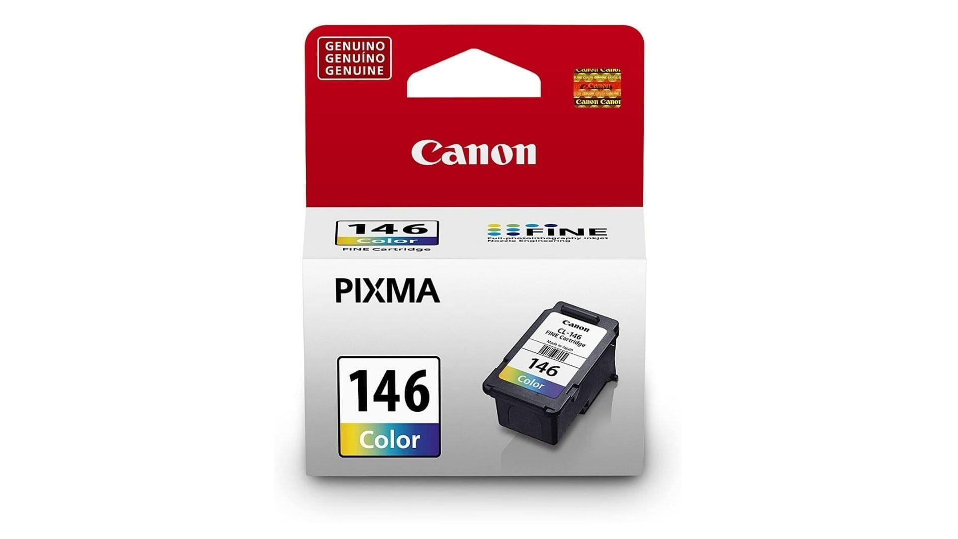 Cartucho de Tinta para impressora Canon CL-146, Canon, Multicor