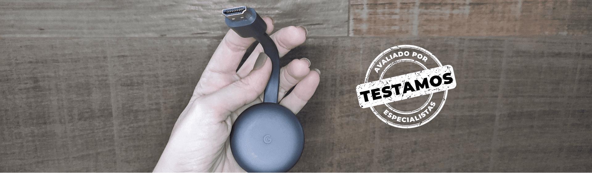 Chromecast 3ª geração: bom custo-benefício, mas depende de celular
