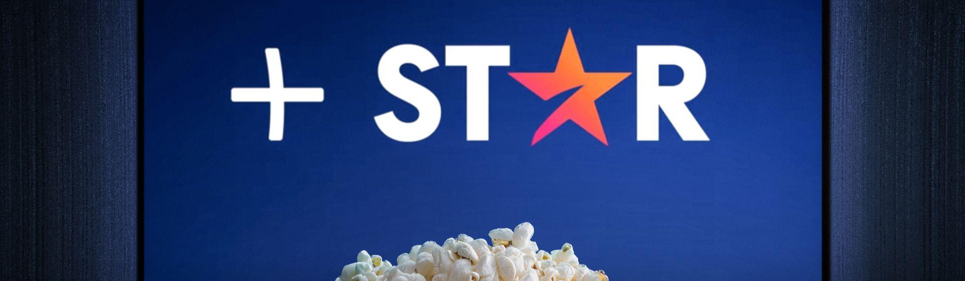 Logo do Star Plus aberto em TV.