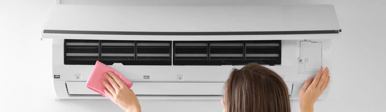 Como limpar ar-condicionado split?