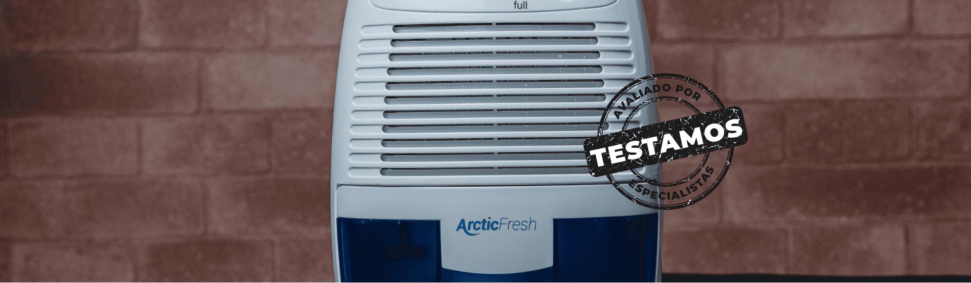 Desumidificador EOS Arctic Fresh: compacto e eficiente, mas difícil de limpar