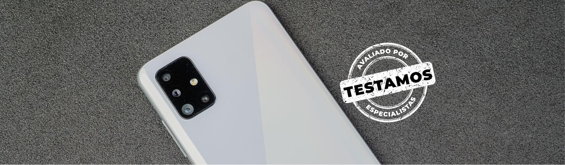 Galaxy A51: intermediário com tela de qualidade e boa câmera