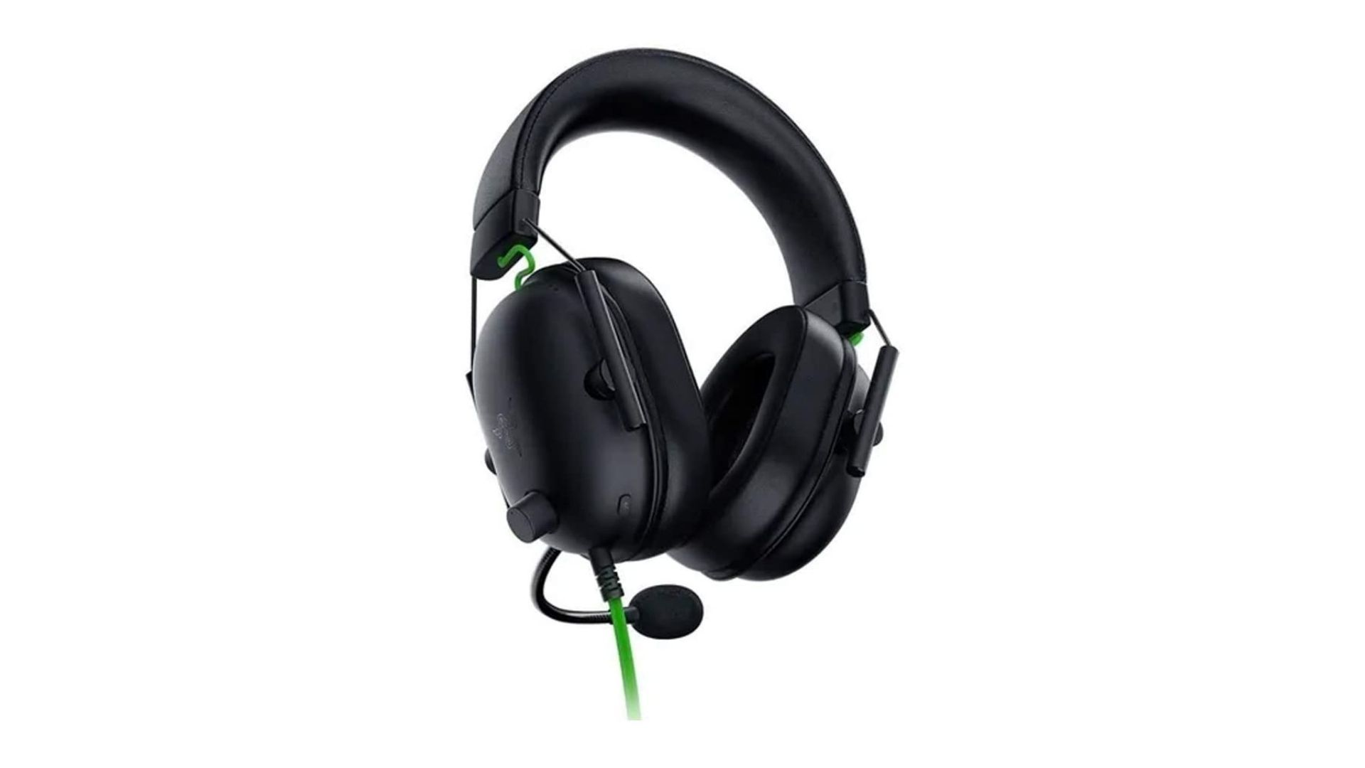 Headset Razer BlackShark V2 preto