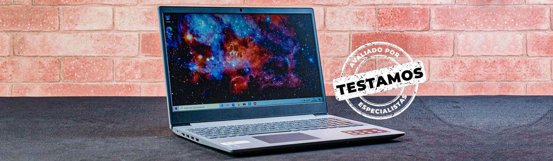 Lenovo IdeaPad S145 i5 8GB com SSD: rápido, mas tela e câmera fracas