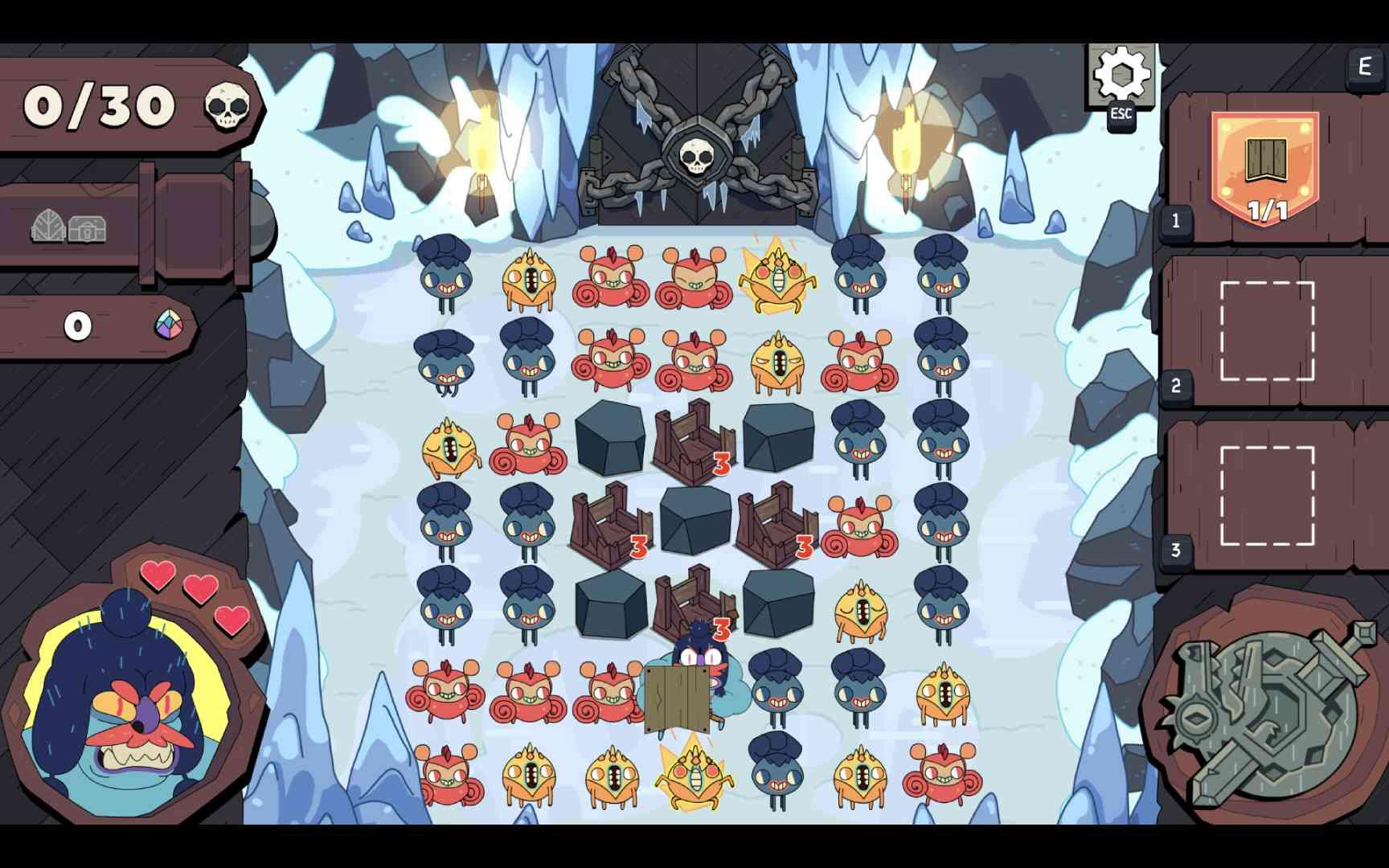 Captura de tela do jogo Grindstone