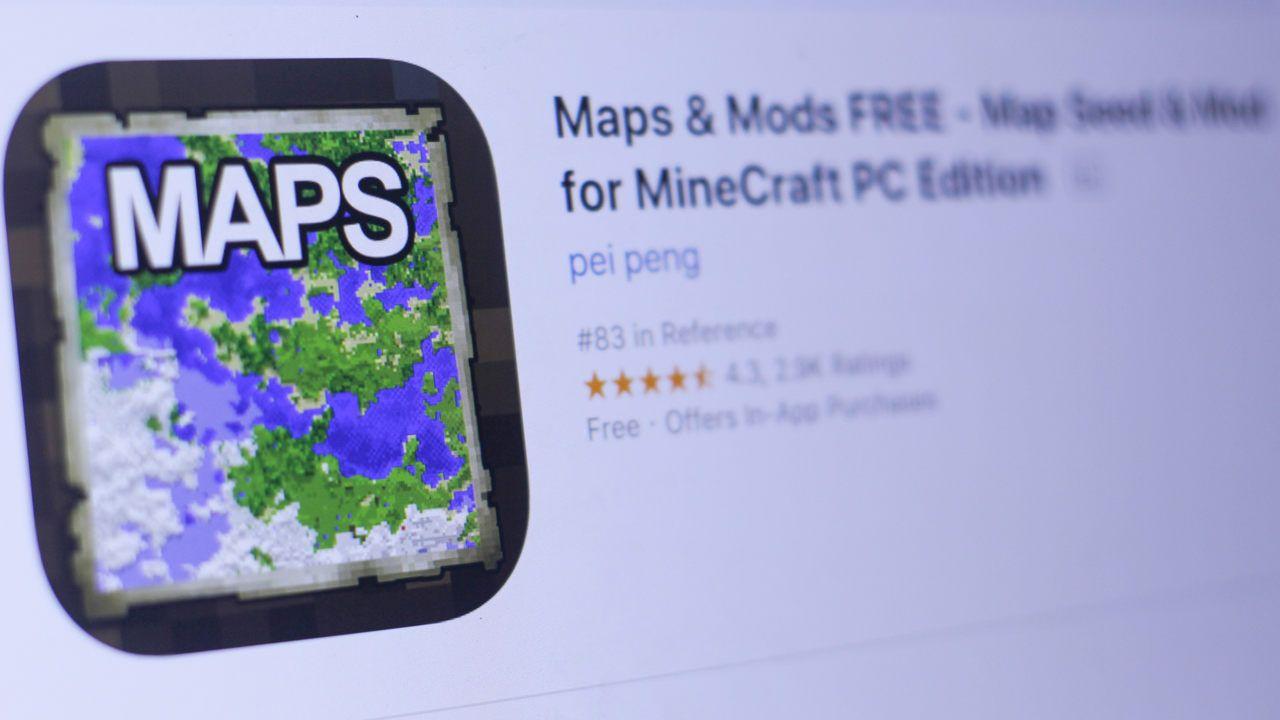 Tela com um exemplo de mods para Minecraft PC disponíveis