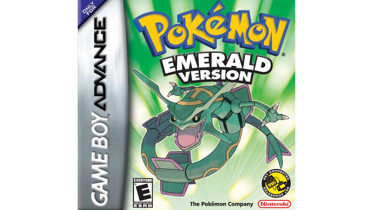 Monstro em capa do game Pokémon Emerald