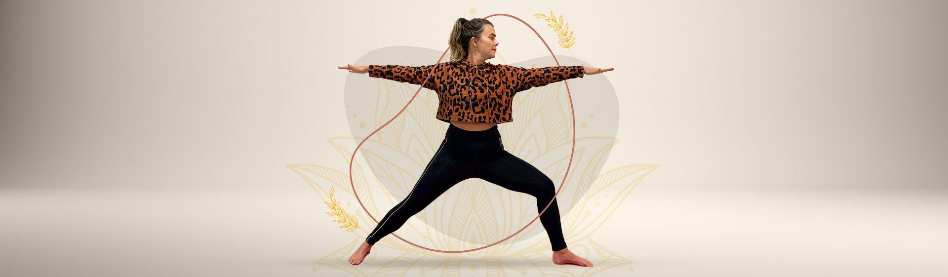 4 posições de yoga para começar a prática em casa