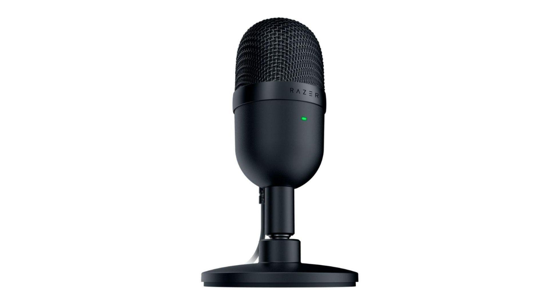 Microfone Razer Seiren Mini preto