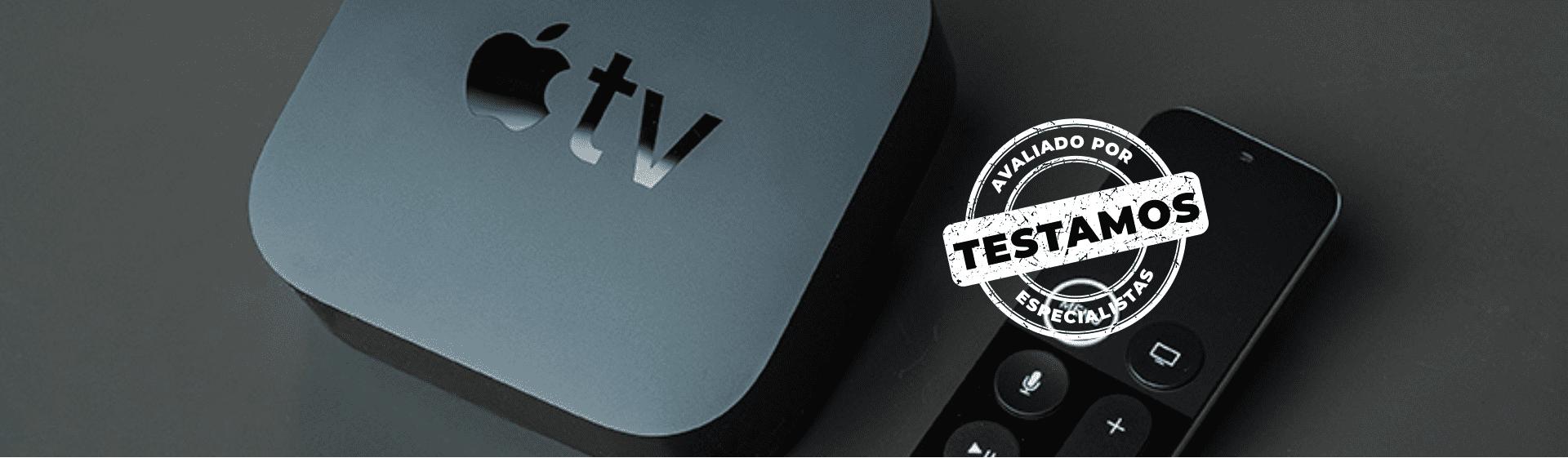 Apple TV 4K: imagem e som com qualidade de cinema