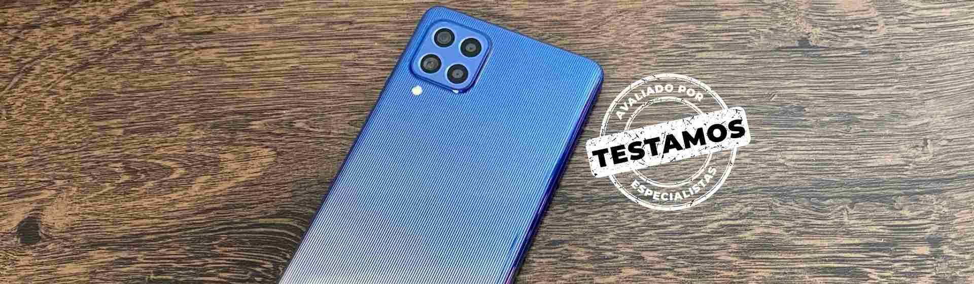 Galaxy M62 tem bateria poderosa e desempenho de ponta