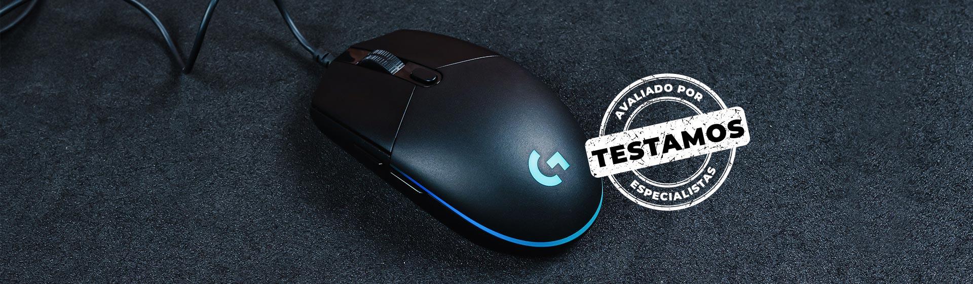 Mouse Logitech G203 é ótima opção básica para gamers; veja o review