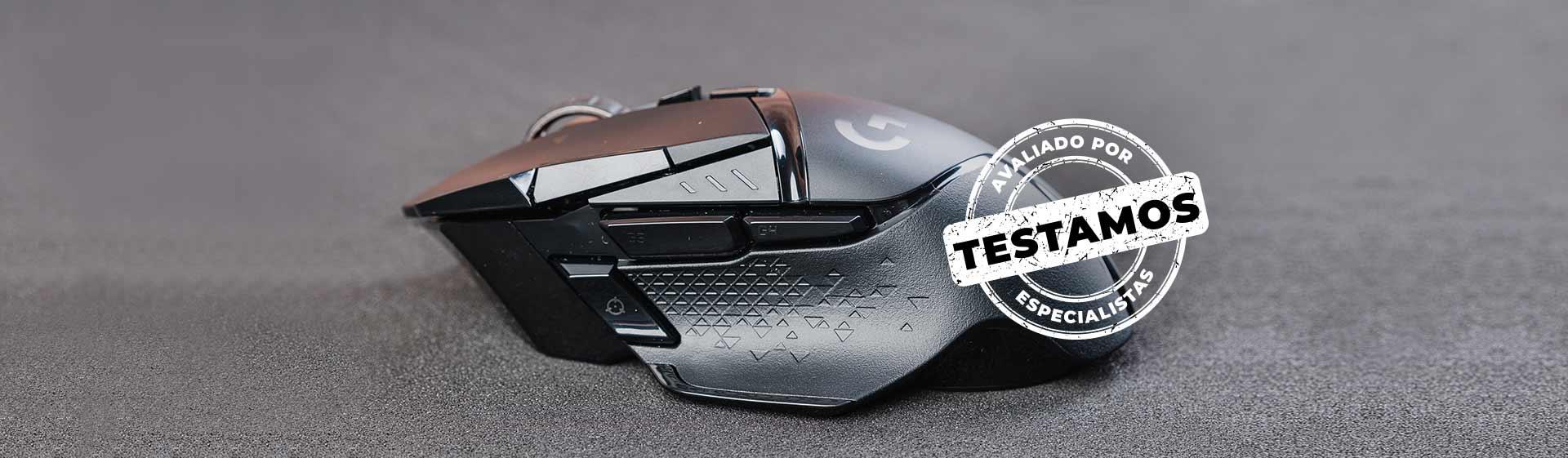 Mouse Logitech G502 Lightspeed: conforto, potência e personalização