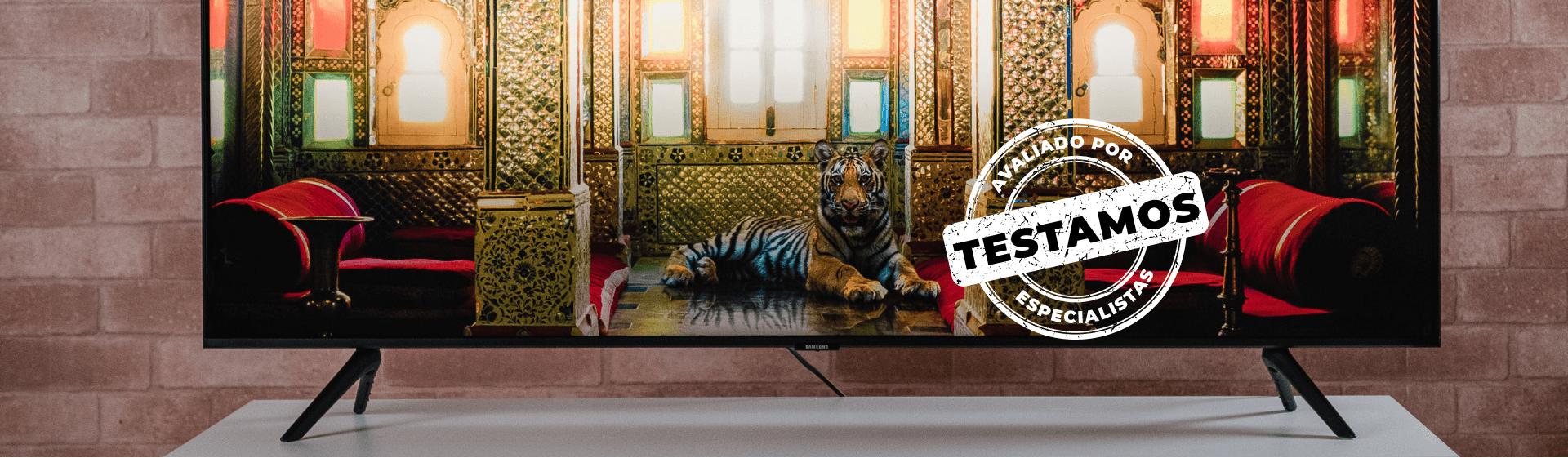 TV Samsung TU8000: qualidade de imagem e bom custo-benefício