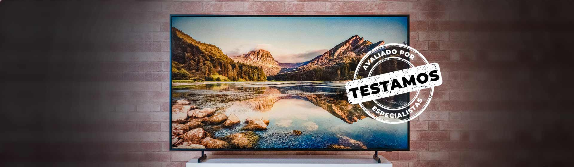 The Frame: TV Samsung tem imagem e recursos premium, mas preço alto