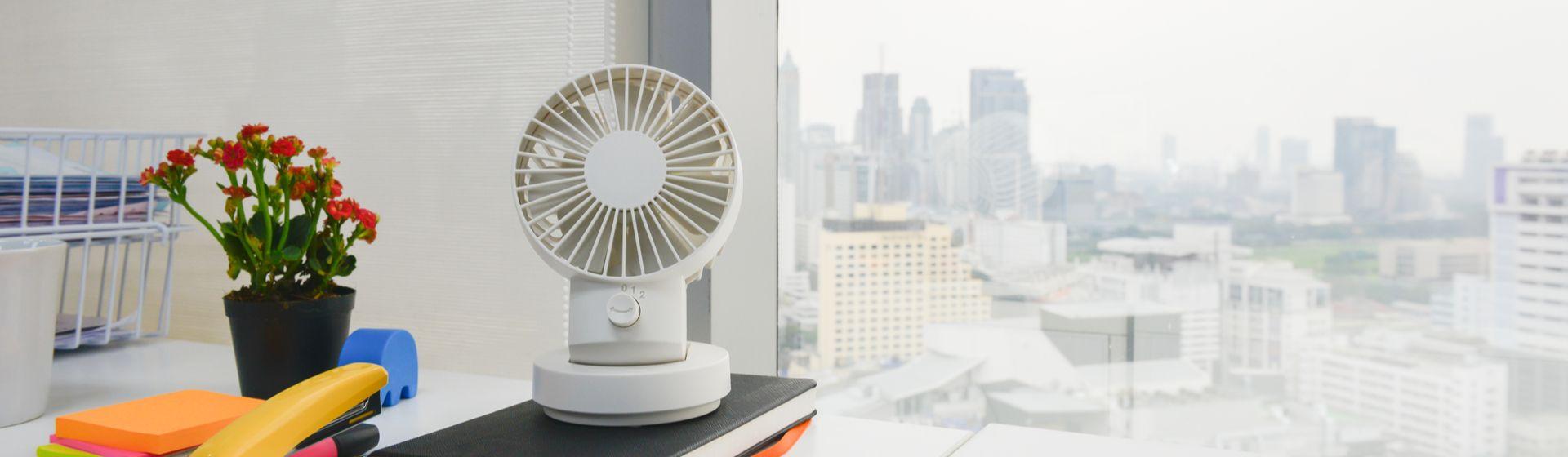 Mini ventilador portátil: conheça os melhores modelos