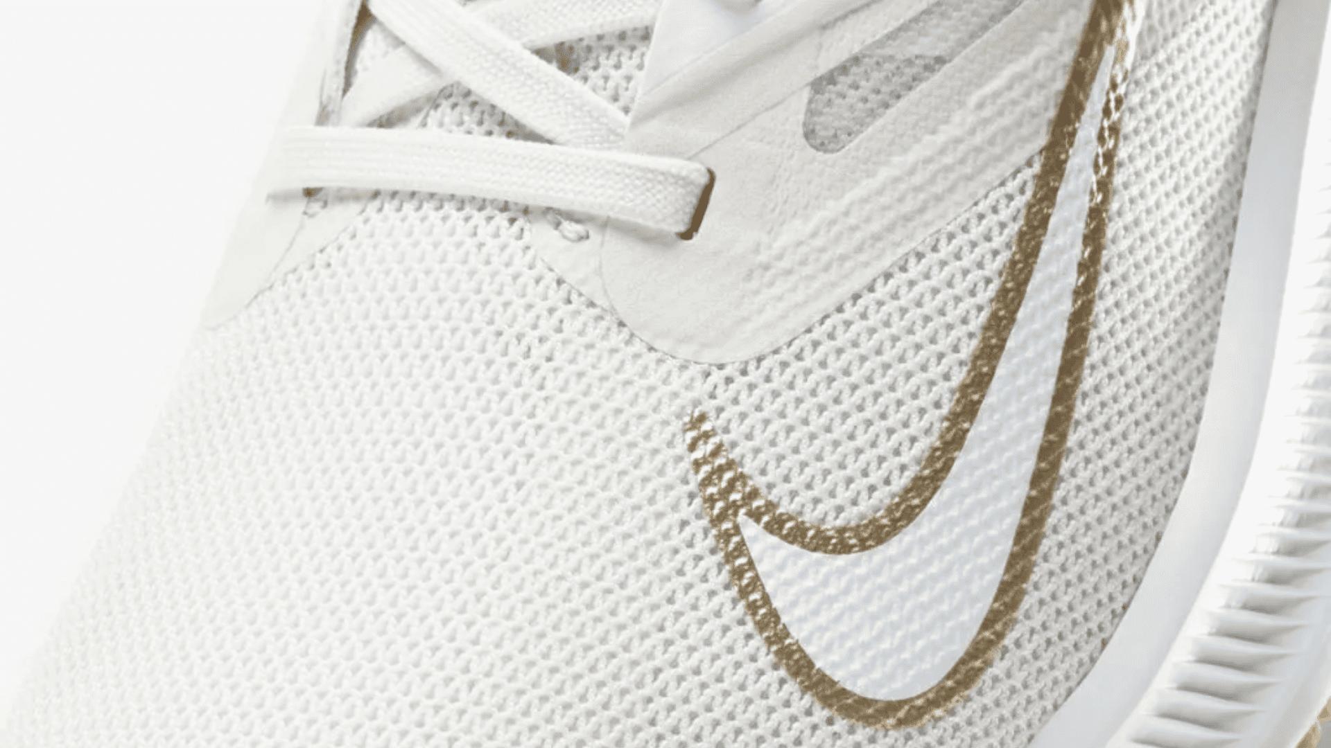 Nike Quest 3 é confeccionado em Mesh, material sintético e borracha (Imagem: Divulgação/Nike)