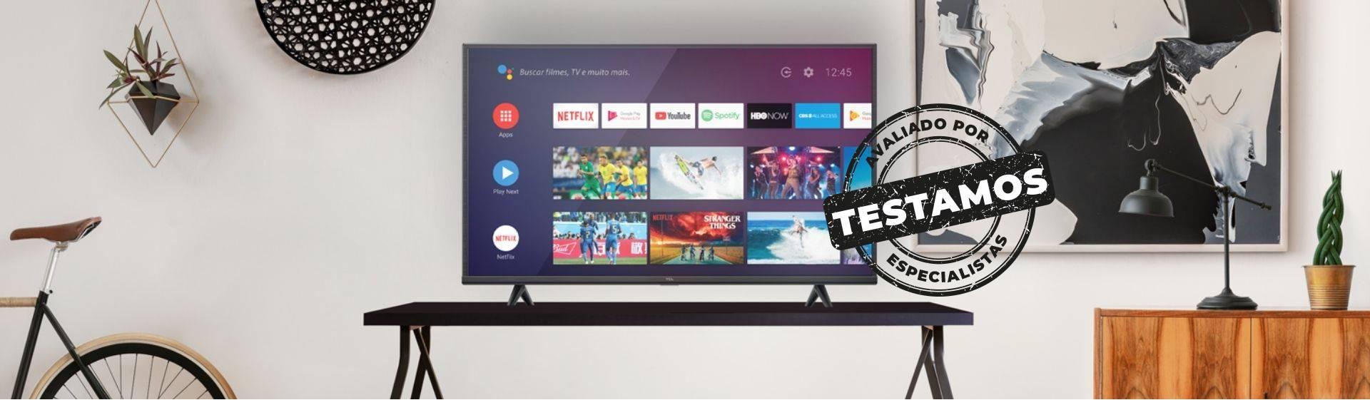 TV TCL P615: modelo de entrada traz 4k e sistema Android