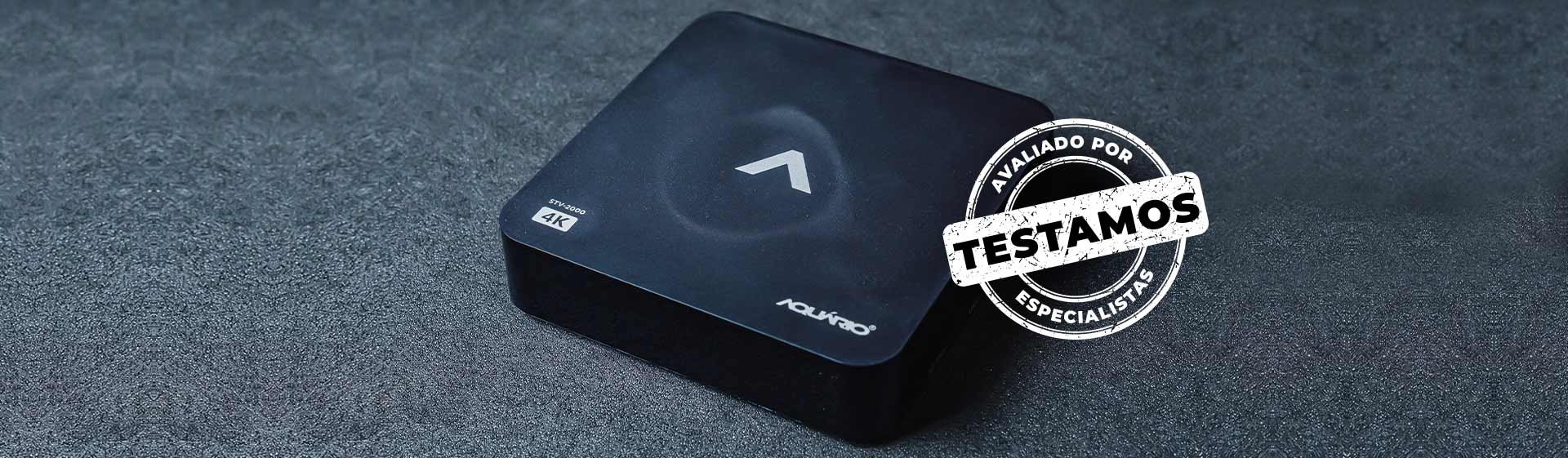 TV Box Aquário STV-2000: resolução 4K, mas poucos recursos